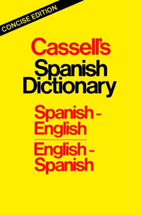 Cassell's Concise Spanish-English English-Spanish Dictionary By Dutton, Brian/ Harvey, L. P./ Walker, Roger M.